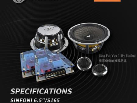 S165 两分频套装喇叭